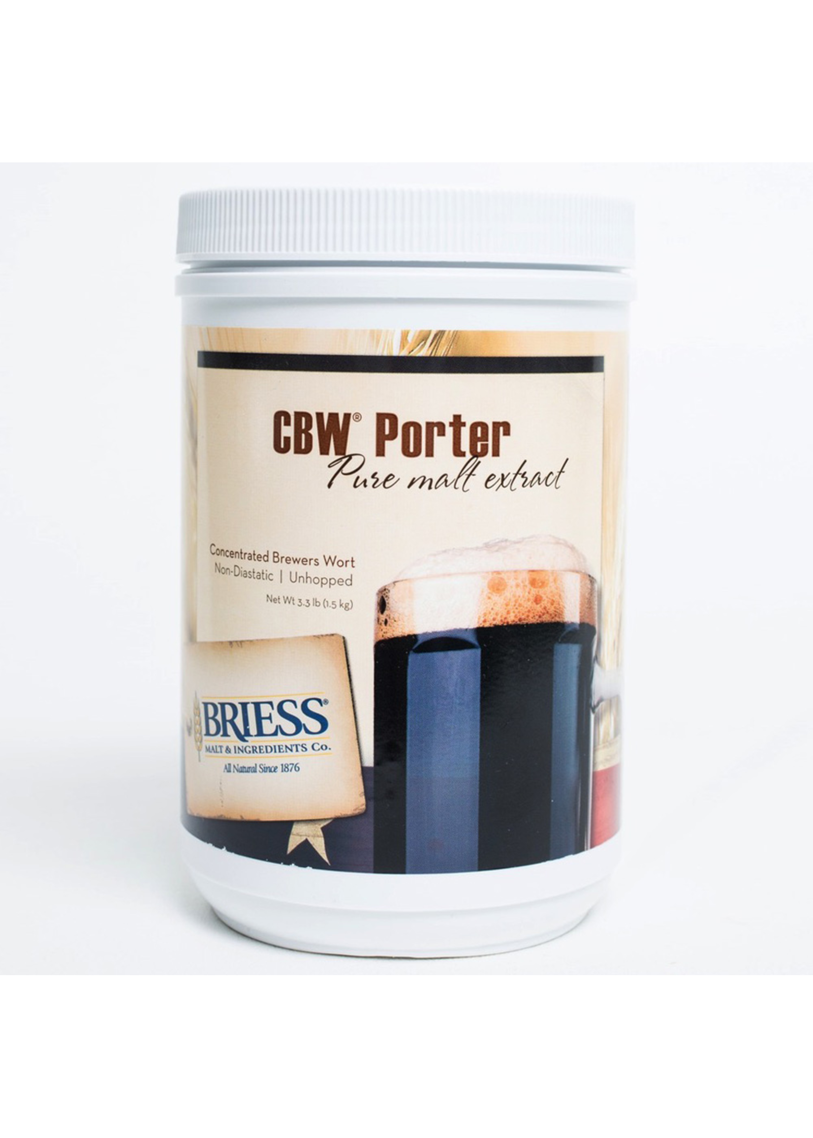 Extracts/Adjuncts Briess CBW Porter Liquid Malt Extract (LME) - 3.3 LB