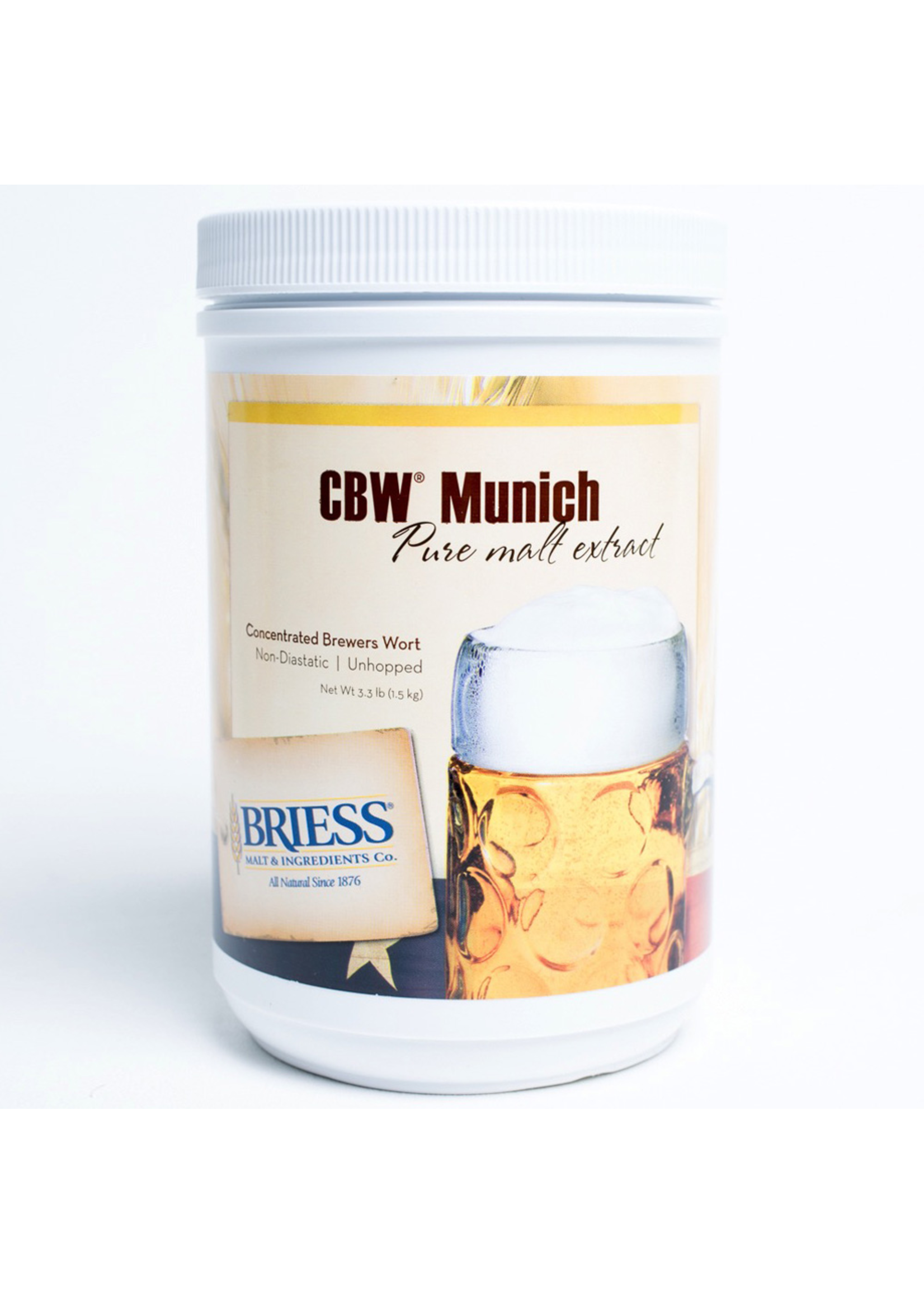 Extracts/Adjuncts Briess CBW Munich Liquid Malt Extract (LME) - 3.3 LB