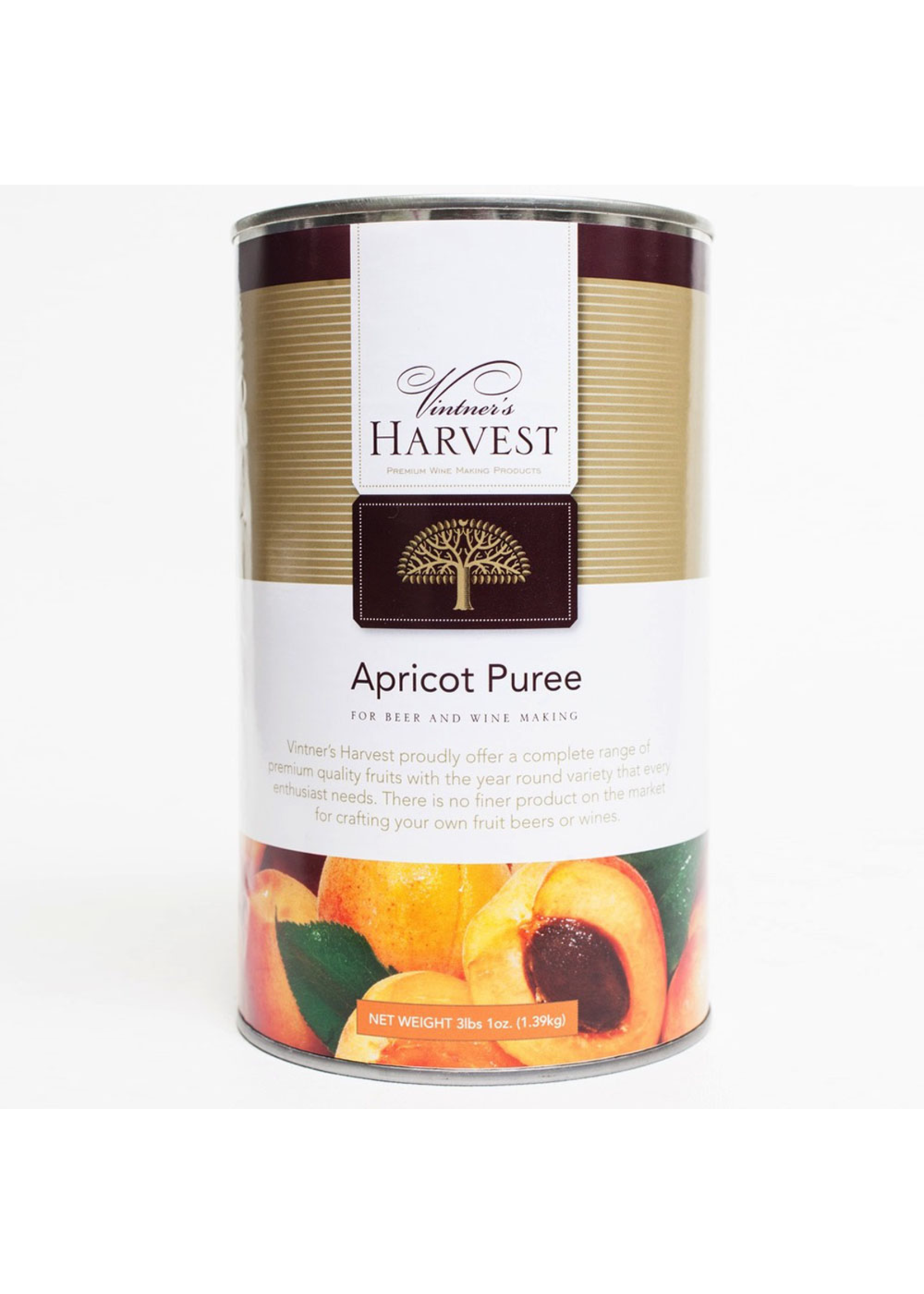 Extracts/Adjuncts Vintner's Harvest Apricot Puree - 49 Oz Can