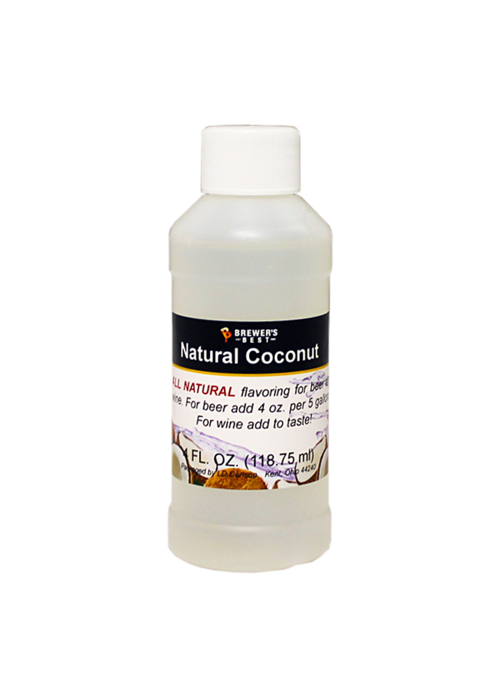 Extracts/Adjuncts Flavoring, Natural - Coconut - 4 oz