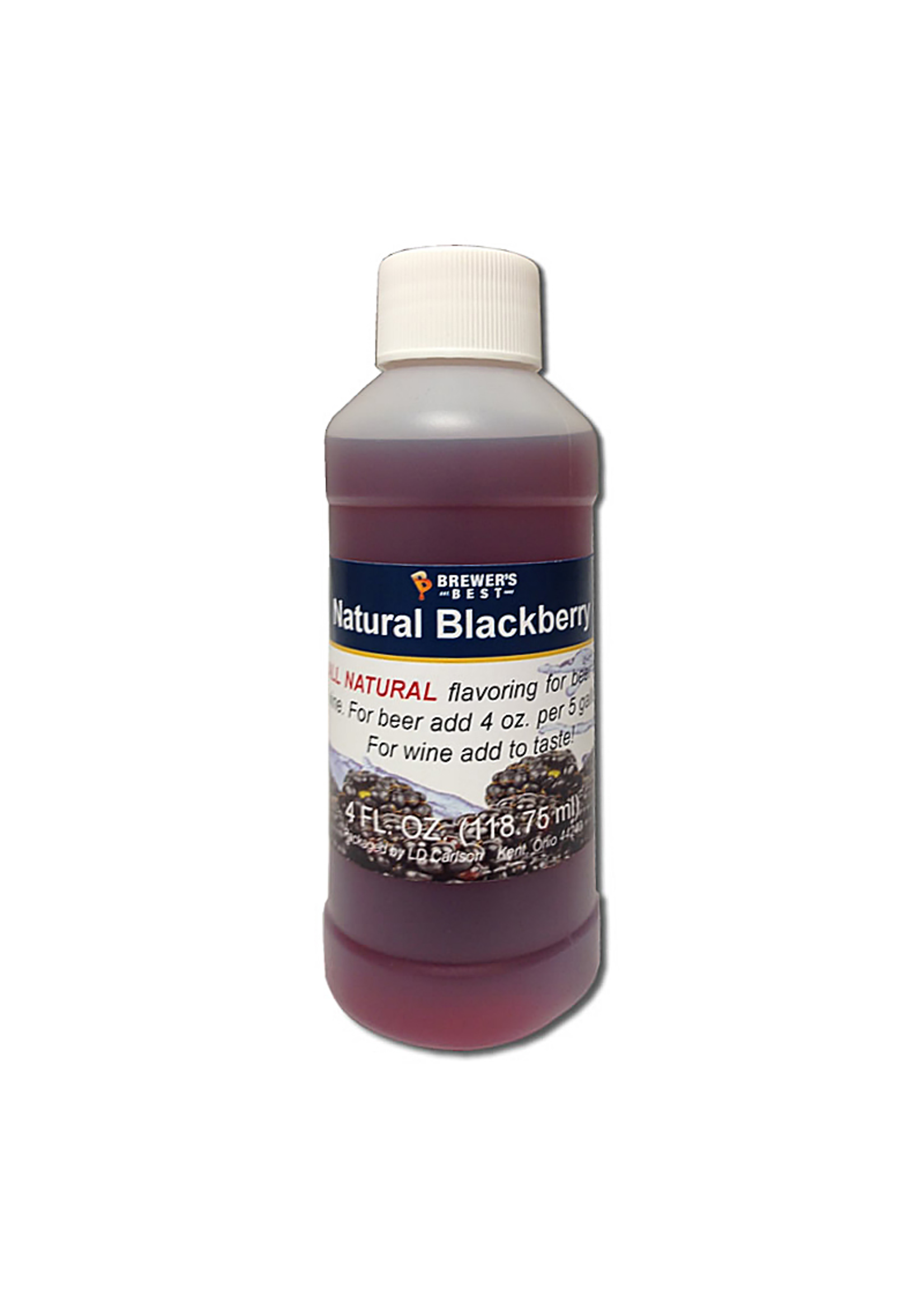 Extracts/Adjuncts Flavoring, Natural - Blackberry - 4 oz