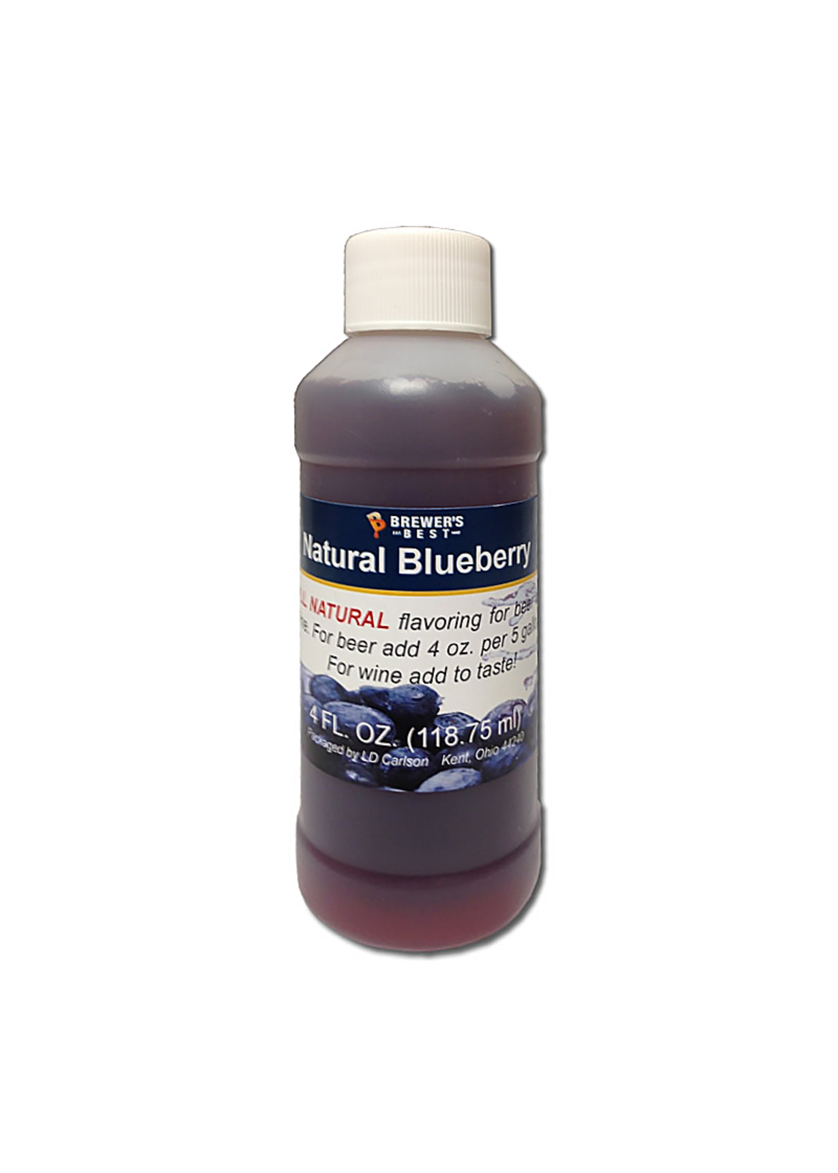 Extracts/Adjuncts Flavoring, Natural - Blueberry - 4 oz