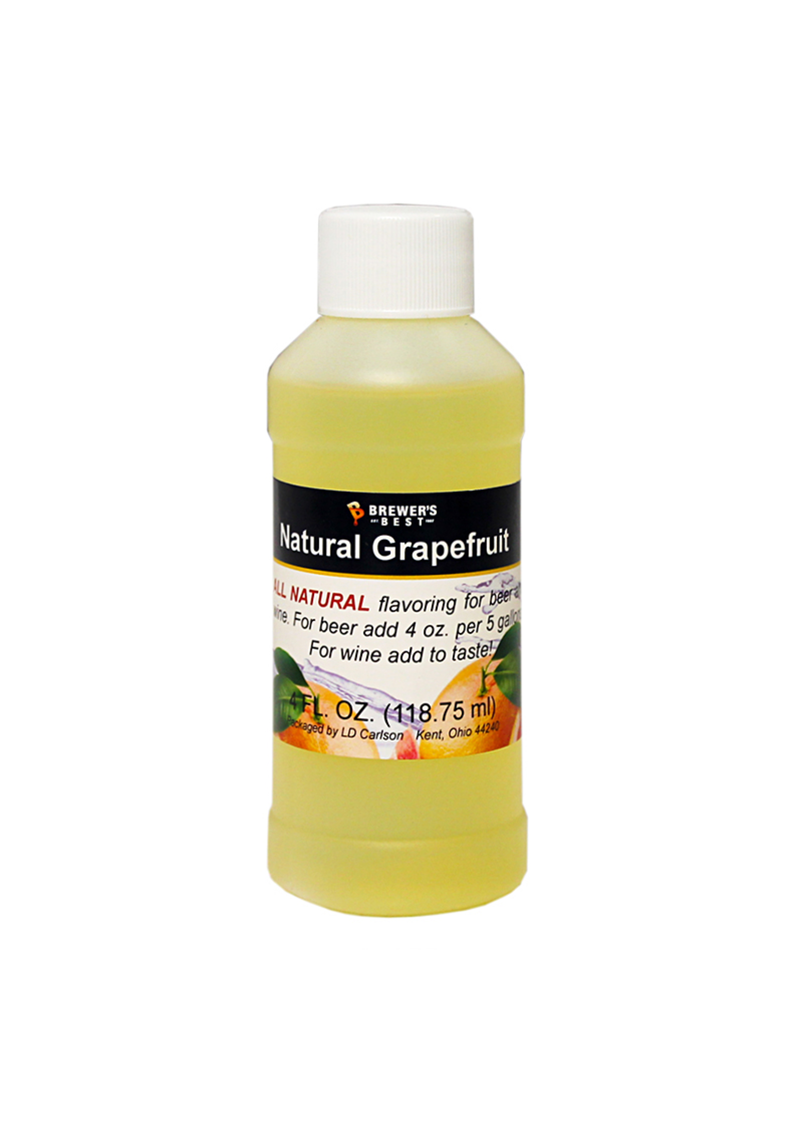 Extracts/Adjuncts Flavoring, Natural - Grapefruit - 4 oz