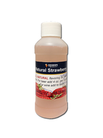 Extracts/Adjuncts Flavoring, Natural - Strawberry - 4 oz