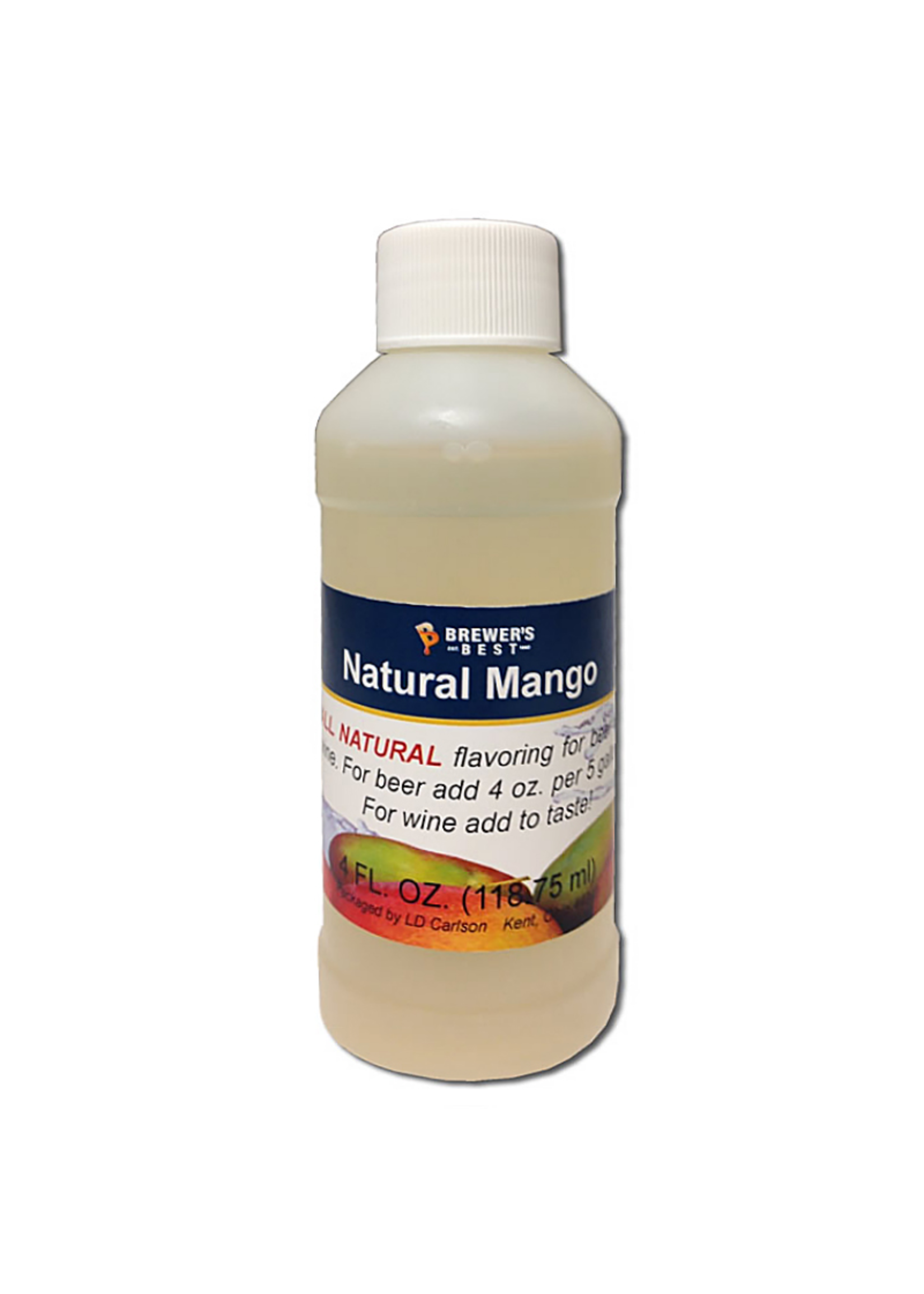 Extracts/Adjuncts Flavoring, Natural - Mango - 4 oz