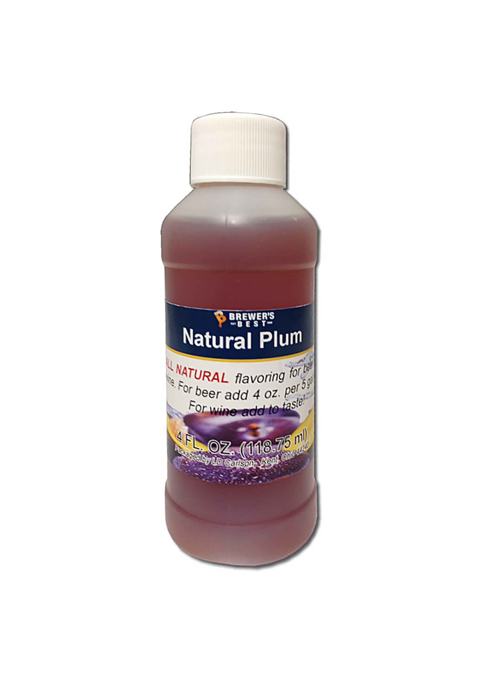 Extracts/Adjuncts Flavoring, Natural - Plum - 4 oz