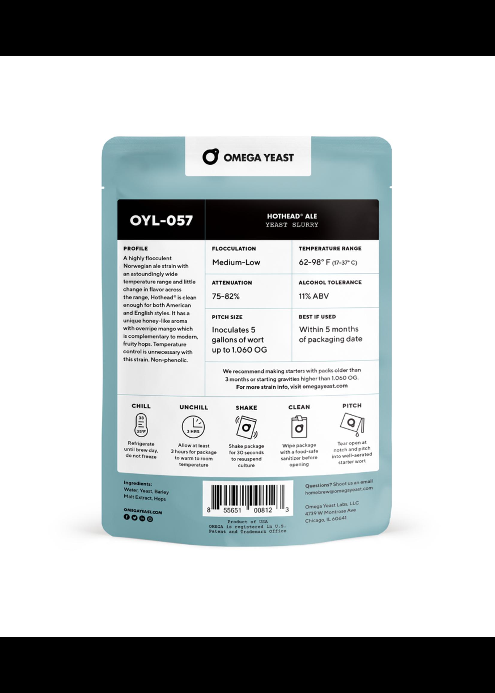 Yeast Omega Yeast Labs - OYL057 - HotHead Ale