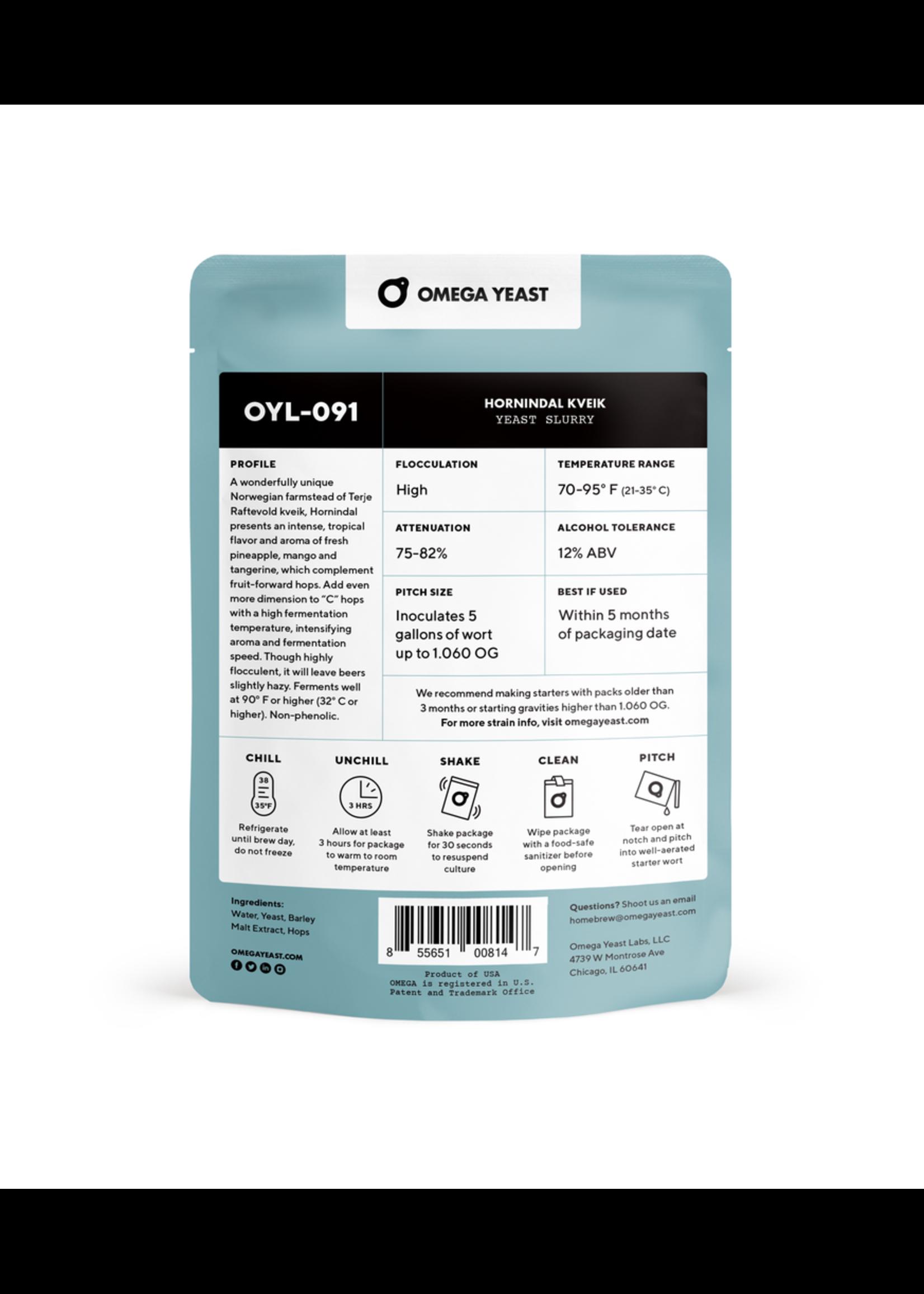 Yeast Omega Yeast Labs - OYL091 - Hornindal Kveik