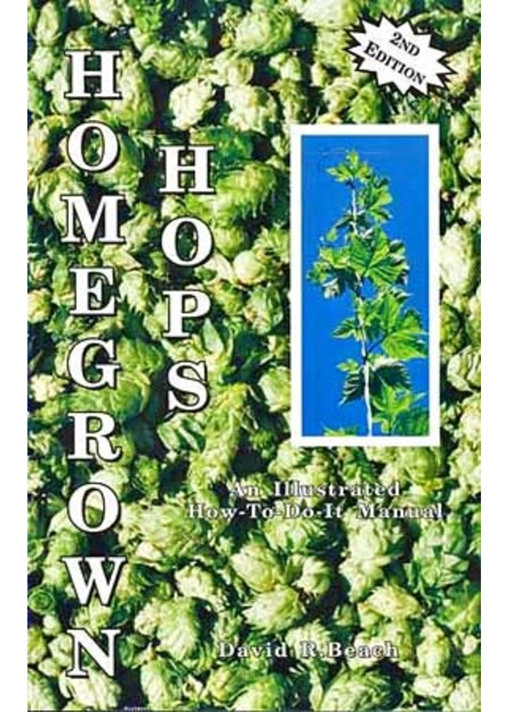 Books Homegrown Hops - How to Grow Your Own Hops At Home