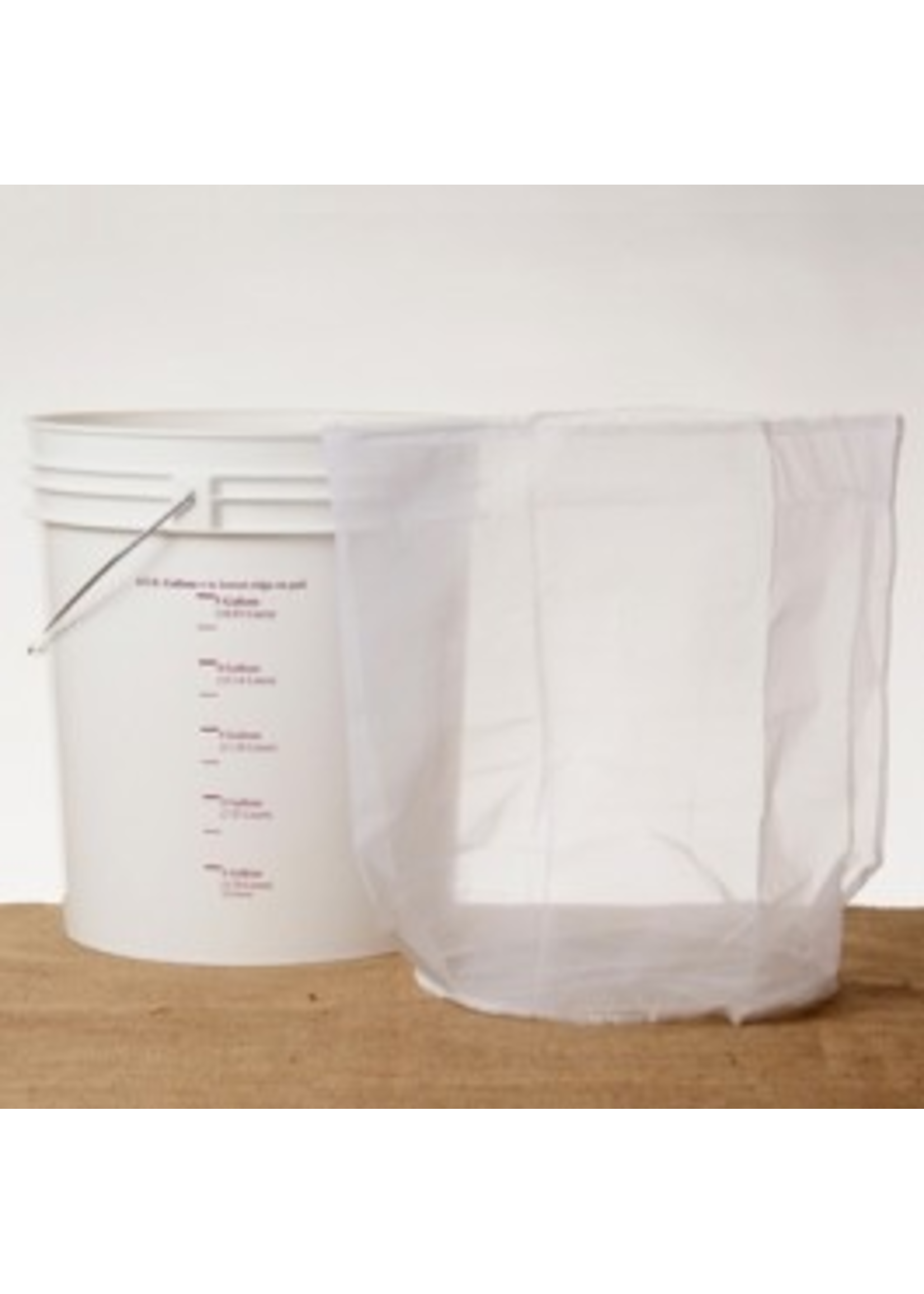 Brewing Straining Bag, Nylon - 7.8 Gallon Bucket Sparging Bag