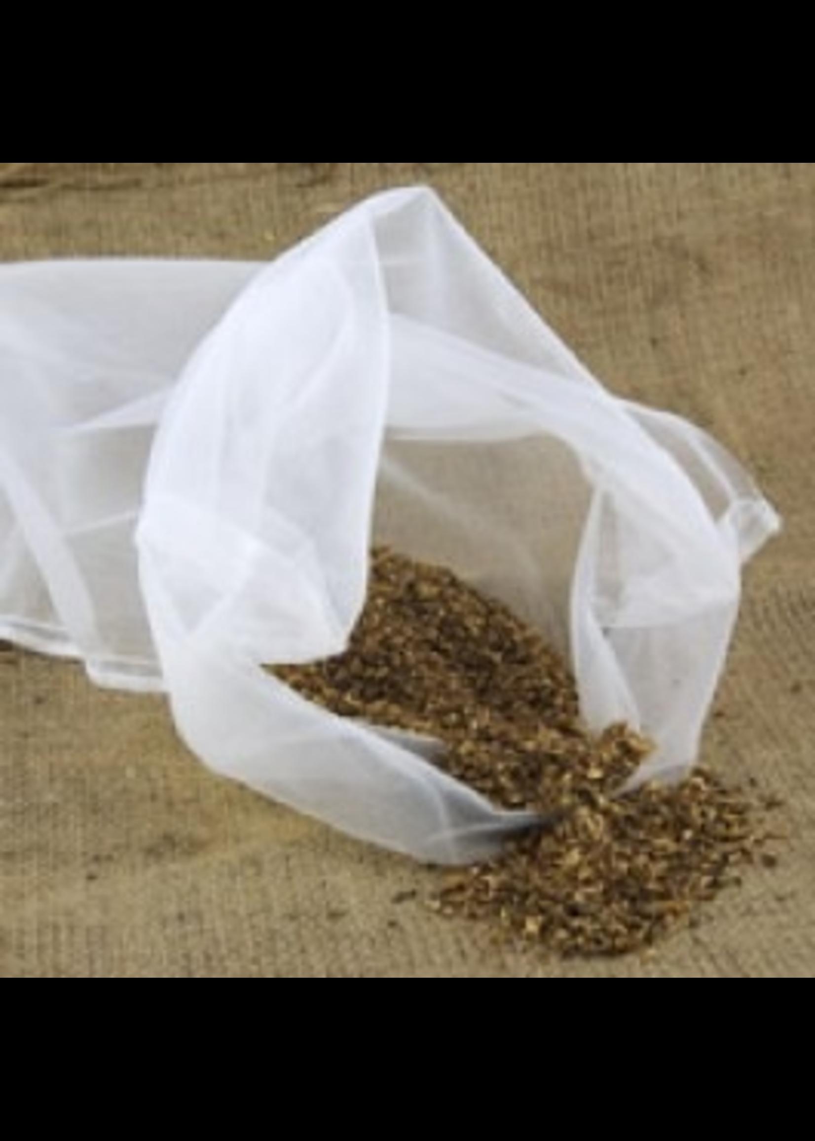 "Brewing Straining Bag, Nylon - Coarse (12"" x 19)"