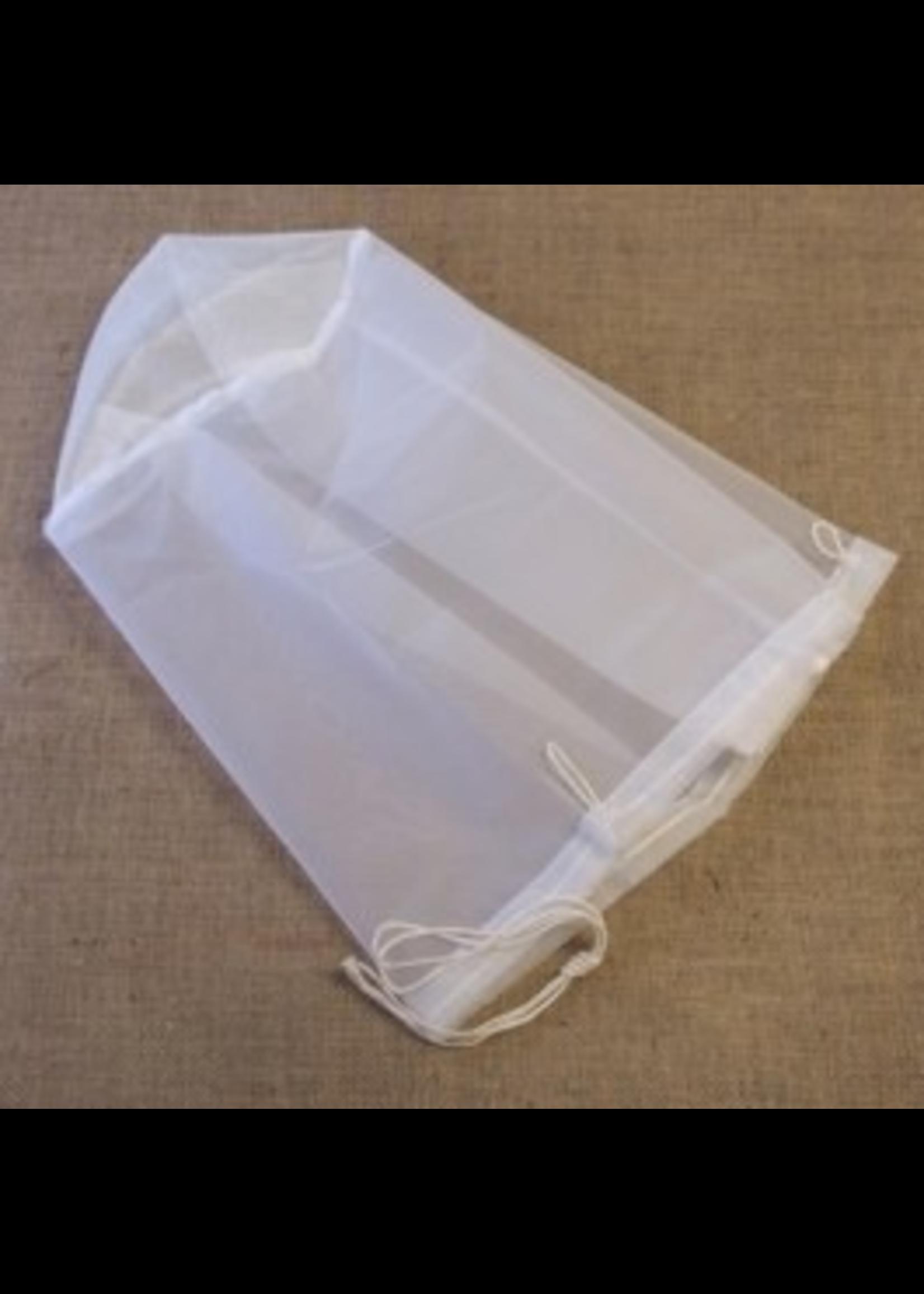 Brewing Straining Bag, Nylon - Draw String, 6.5 Gal Buckets (12 x 12)