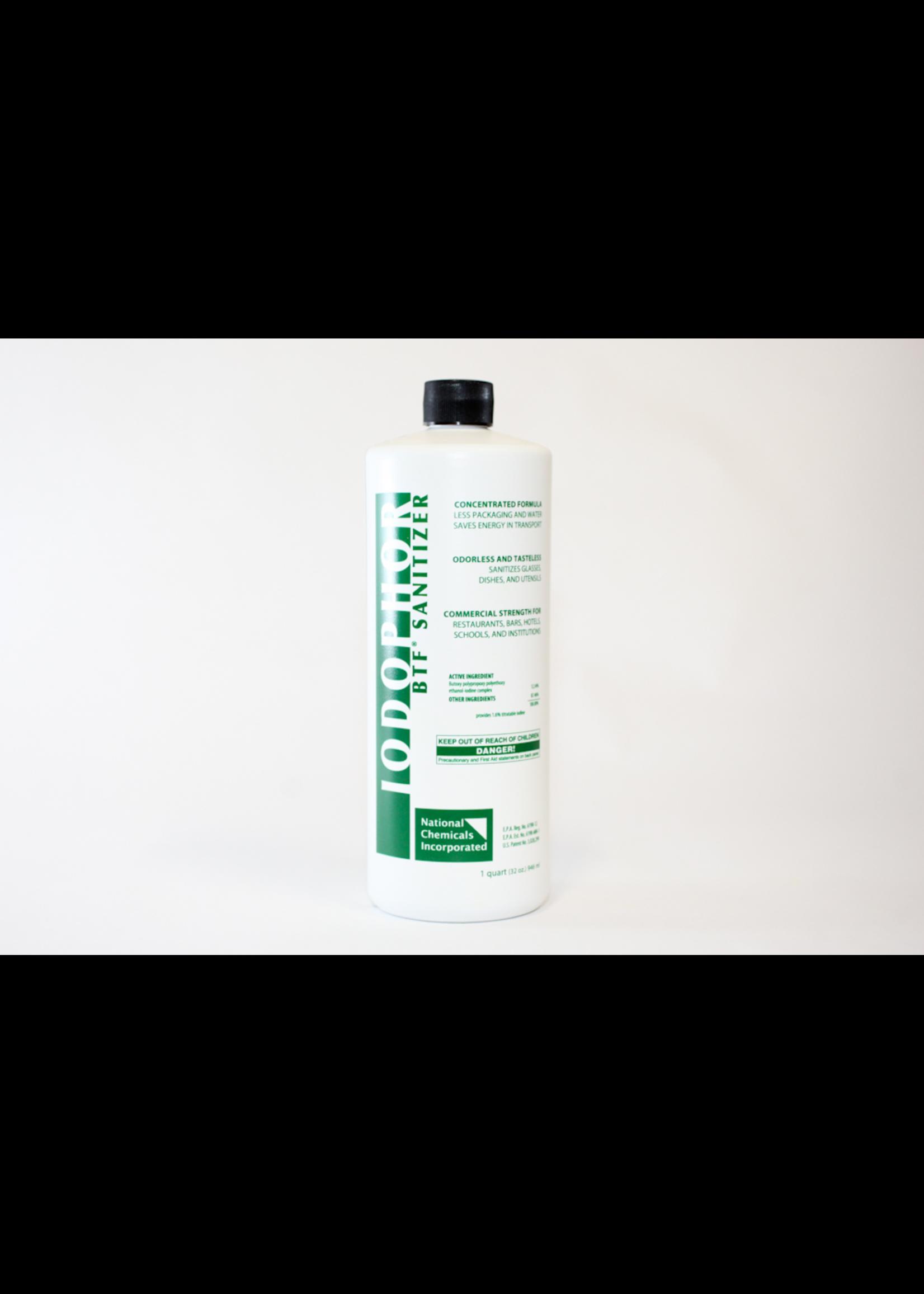 Chemicals Sanitizer - B-T-F Iodophor - 32 oz