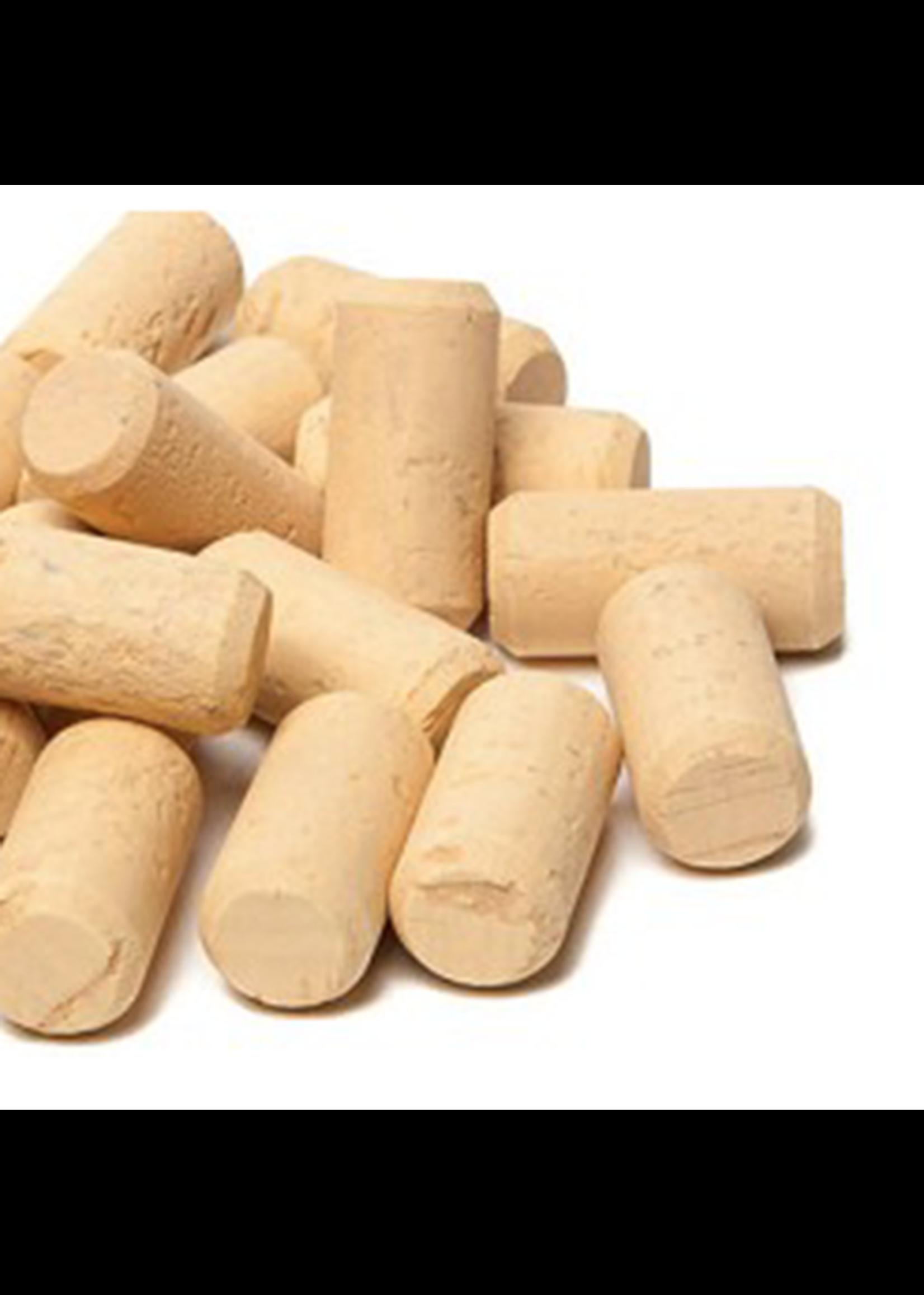 "Racking/Bottling Corks, Wine - #7 x 1 3/4"" First Quality (30/bag)"