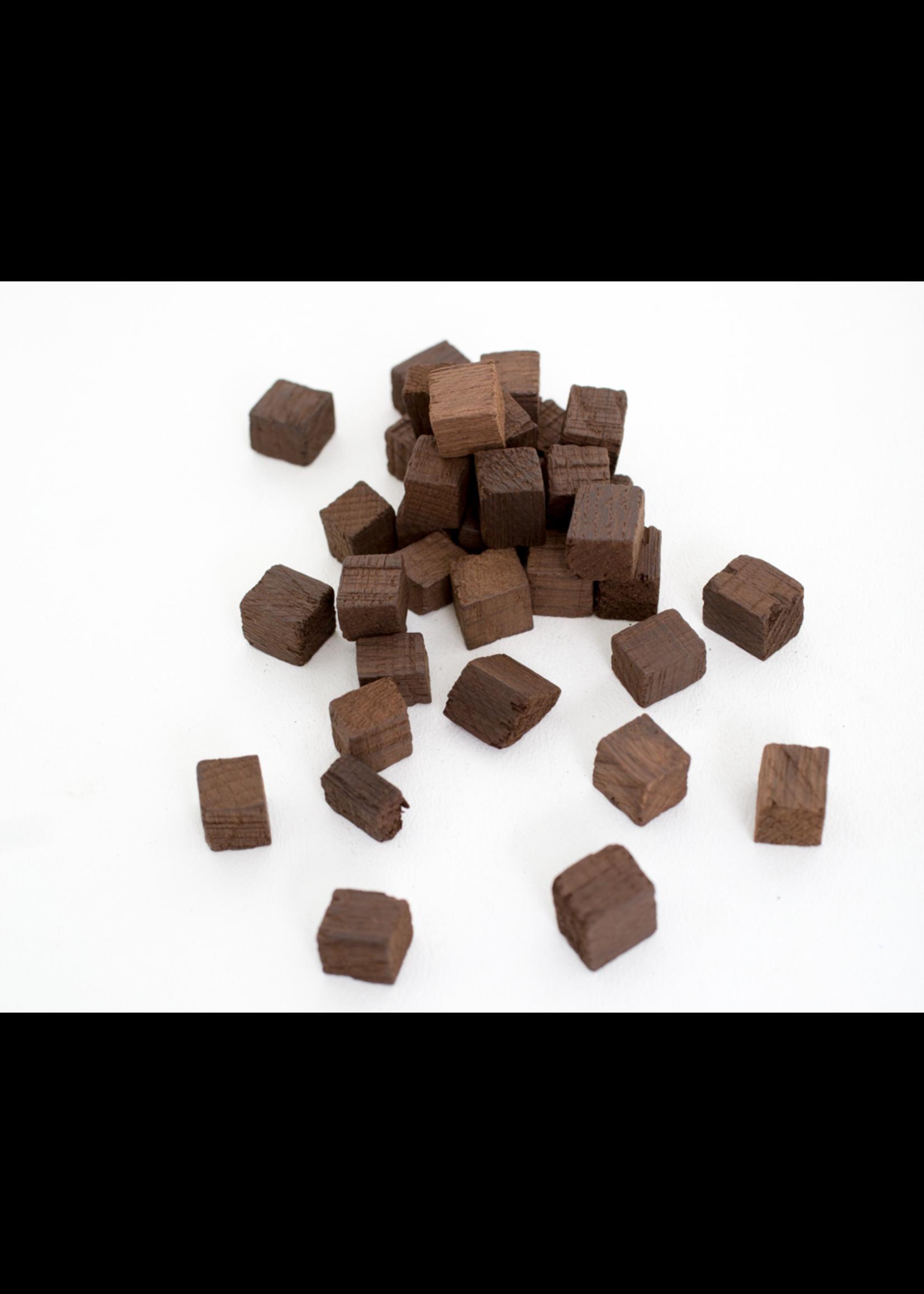 Extracts/Adjuncts Medium Toast Hungarian Oak Cubes - 1 LB