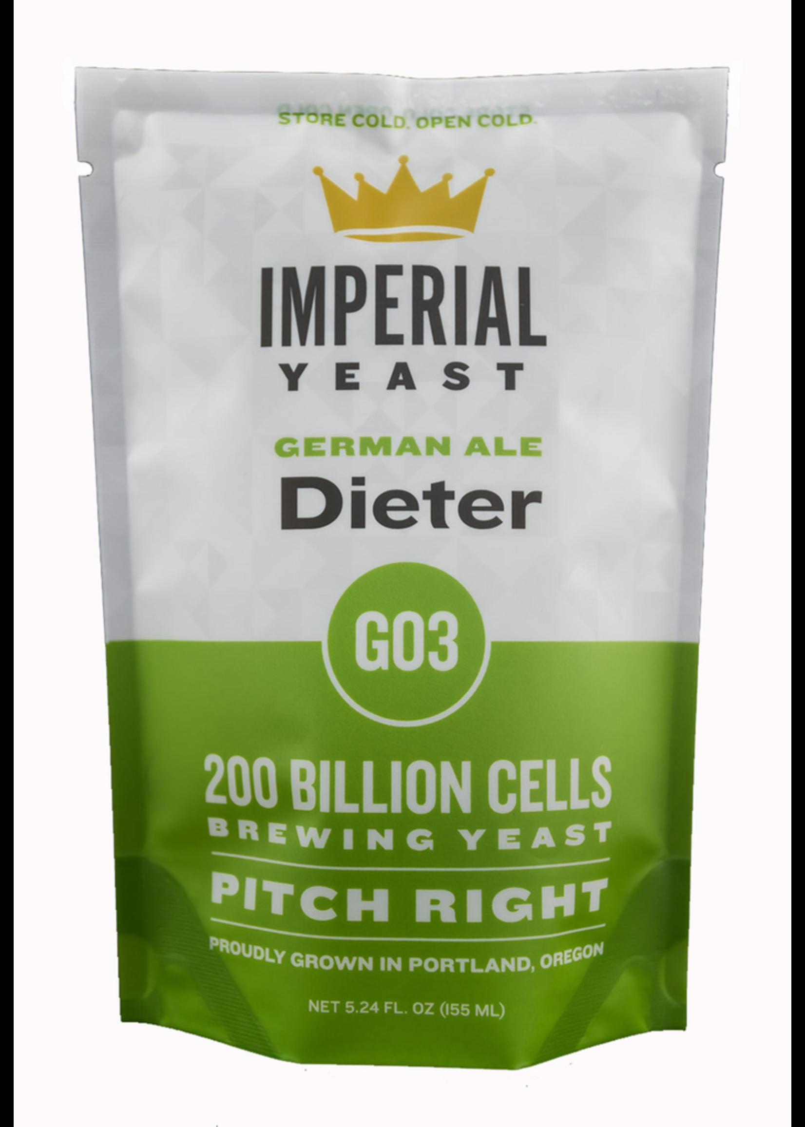 Yeast Imperial Organic Yeast G03 - Dieter