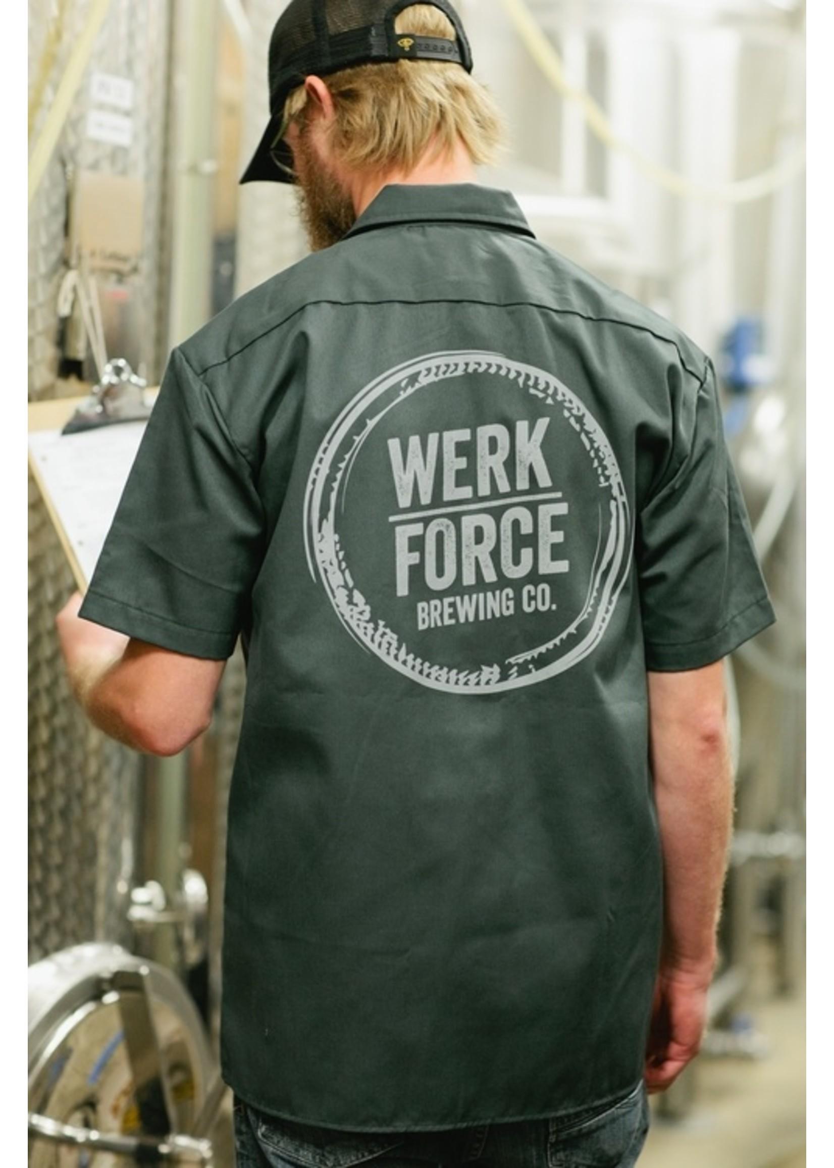Merchandise Werk Force Brewing Work Shirt