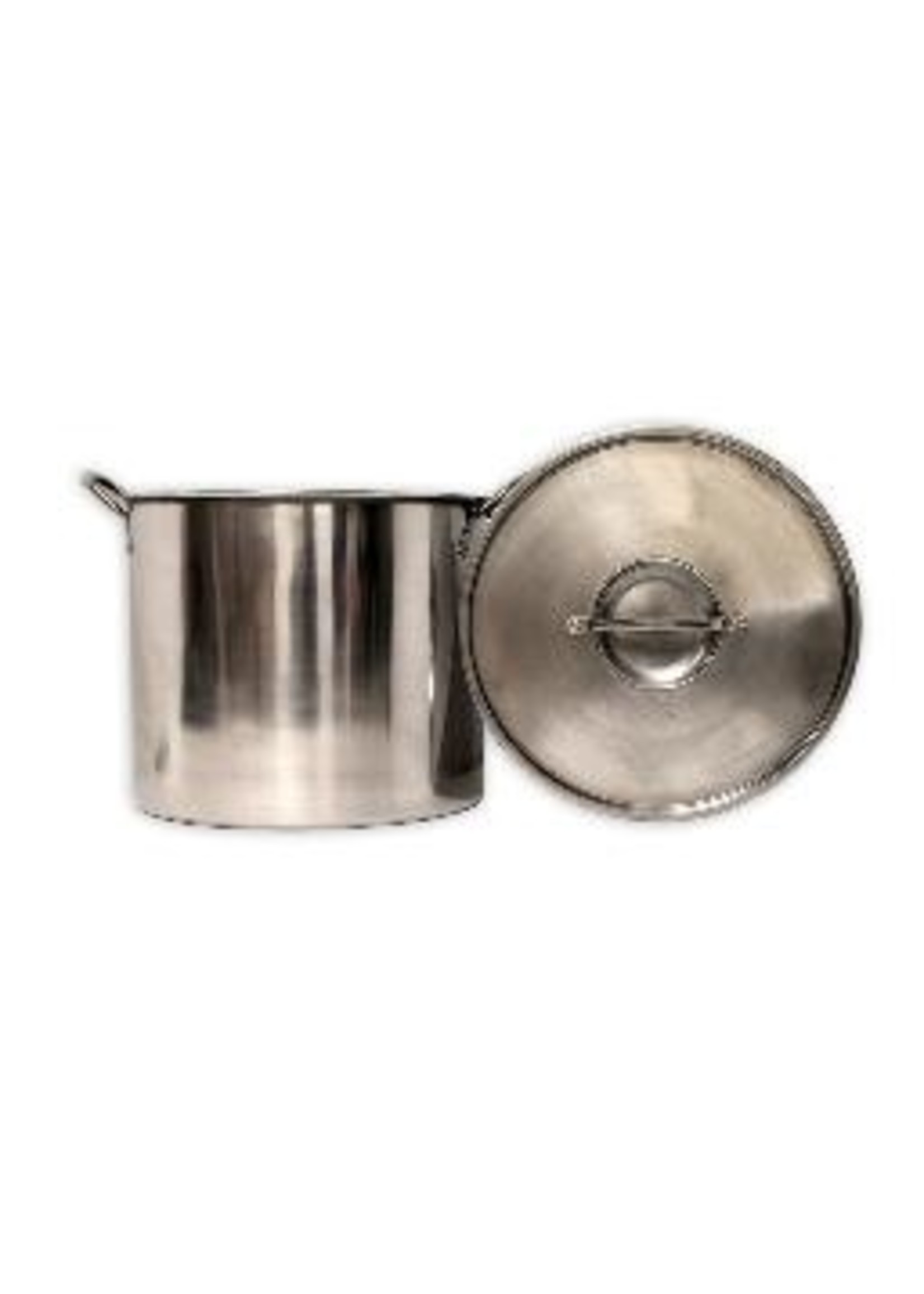 Brewing Eco-Pot 20 Quart Stainless Steel Kettle With Lid