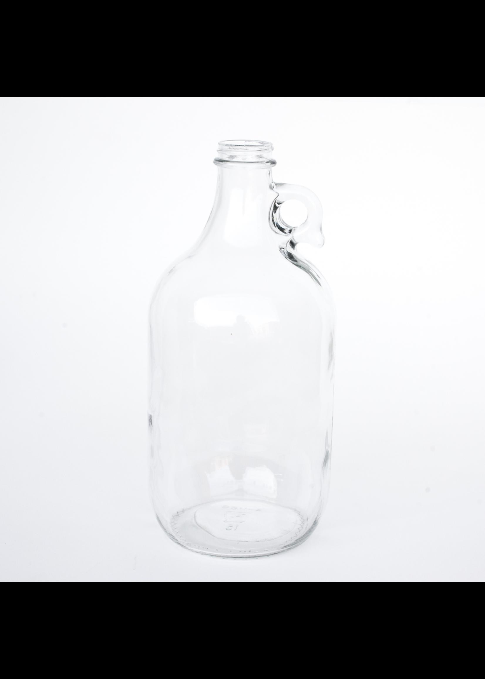 Racking/Bottling Glass Jug - Clear (Flint) 1/2 Gallon Growler (1/each)