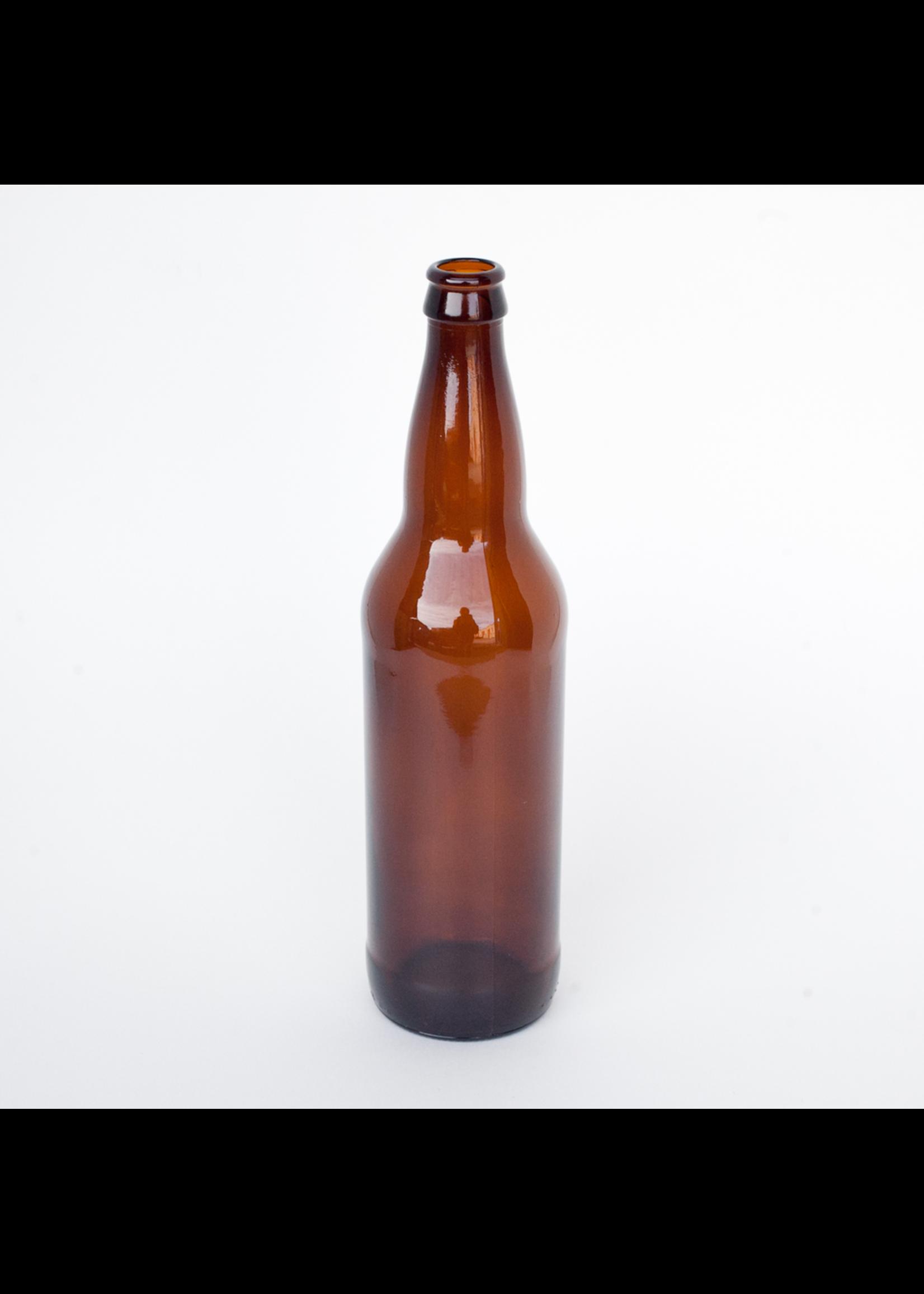 Racking/Bottling Bottles, Beer - 22 oz Bomber - Amber (12/case)
