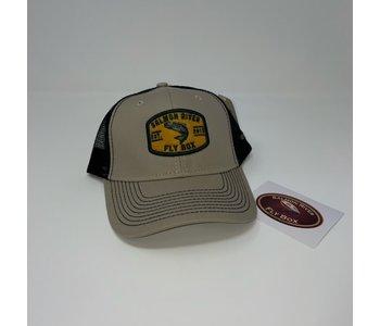 SRFB Trucker Hat-Khaki/Black
