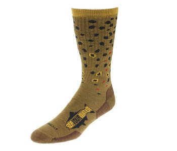Rep Your Water Brown Trout Socks