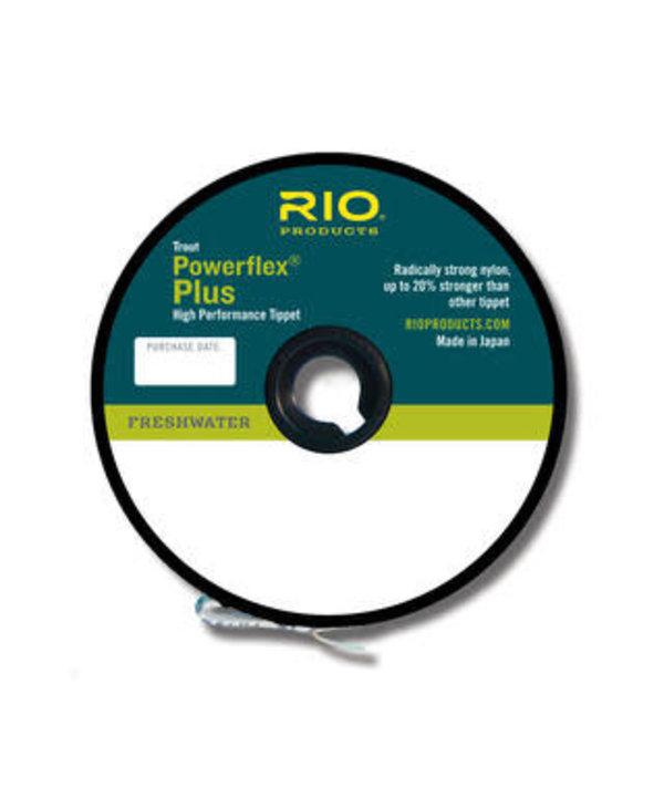 RIO Powerflex Plus Tippet 50yd