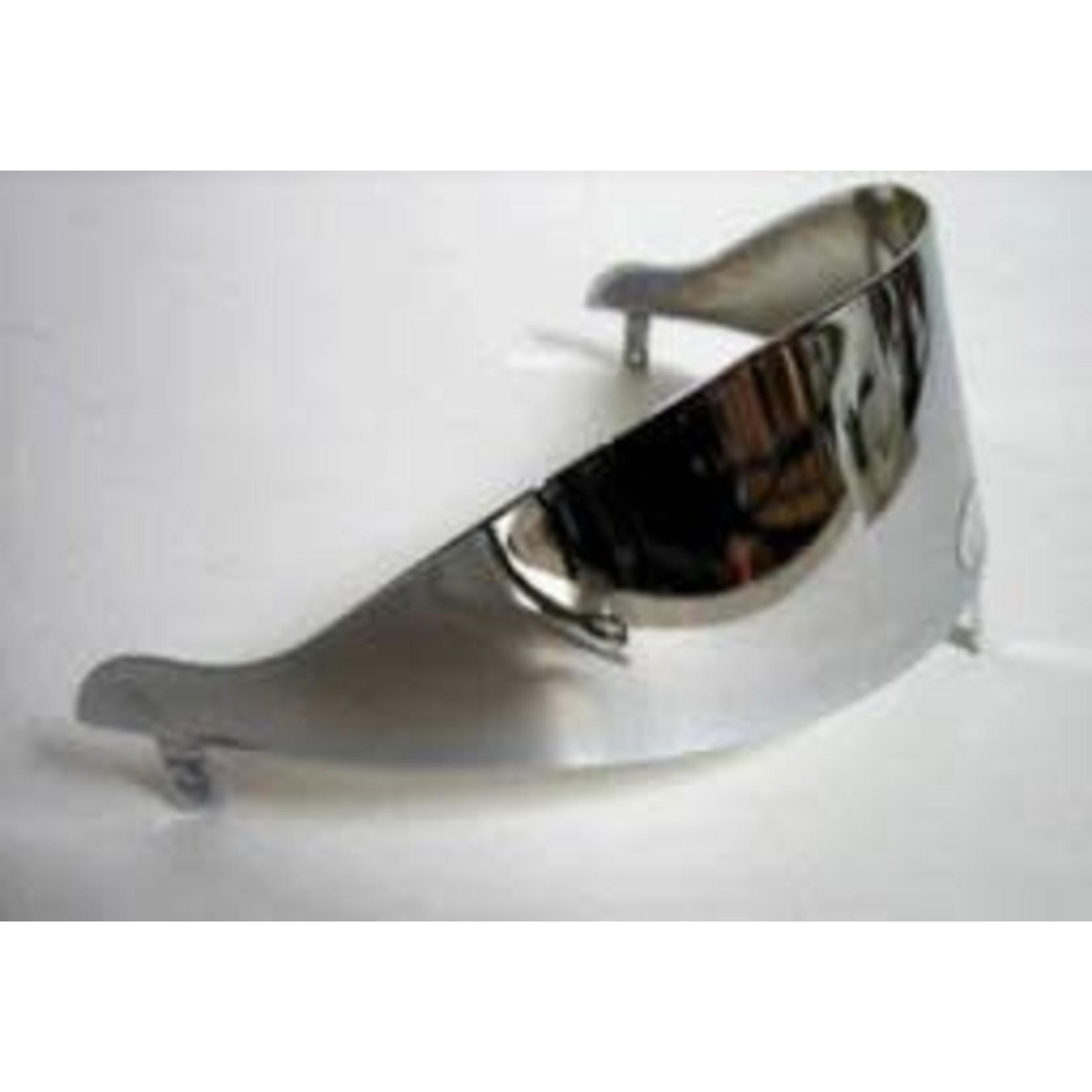 Accessories Headlamp Visor, Chrome GT/GTS/GTV/LX Small