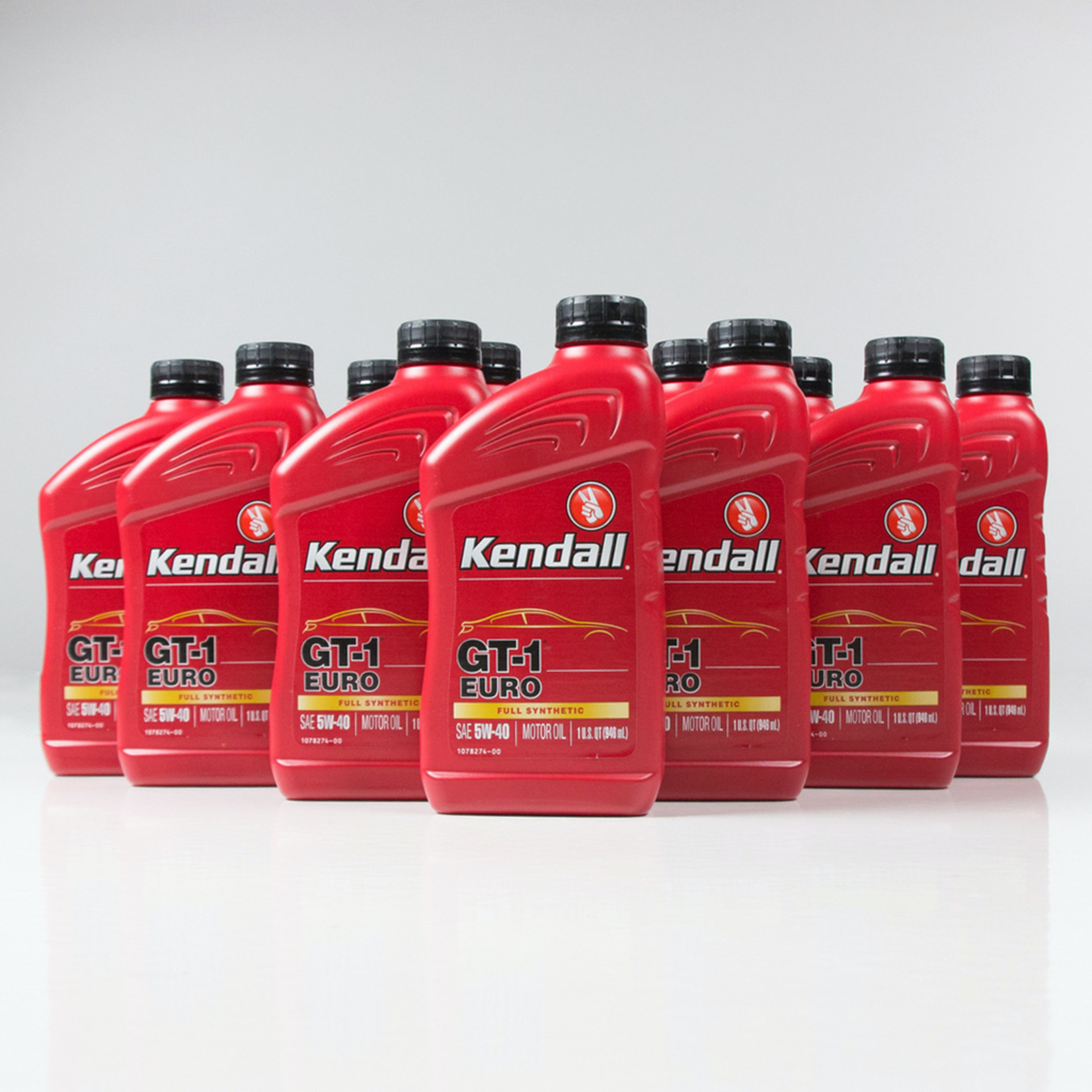 Parts Oil, 5W40 Kendall GT-1 EURO 100% Synthetic
