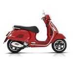 Vehicles Vespa, 2021 GTS300 HPE Super Passion Red