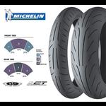 Parts Tire, 130/70-12 Michelin Power Dual Compound