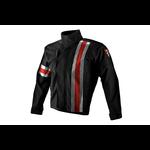 Apparel Jacket, Corazzo Men's 5.0 Black (Red Stripe) X-Large