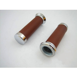 Parts Hand Grips, LX Brown Leather