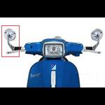 Accessories Mirror, Chrome Handlebar End 102mm (1 Side)