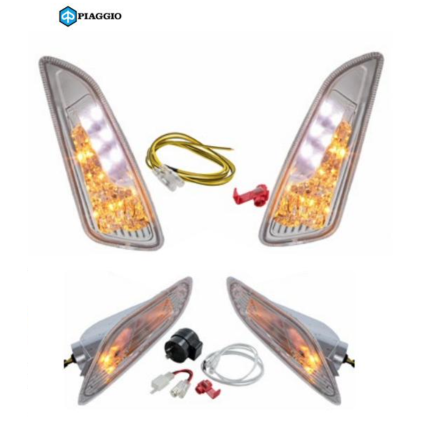 Parts Signal Lamp Kit, LED Primavera/Sprint Clear Lens