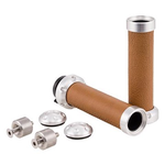 Accessories Luxury Leather Tan Hand Grips