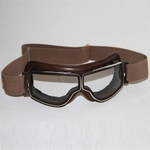 Lifestyle Goggles, Aviator T2 Brown/Chrome