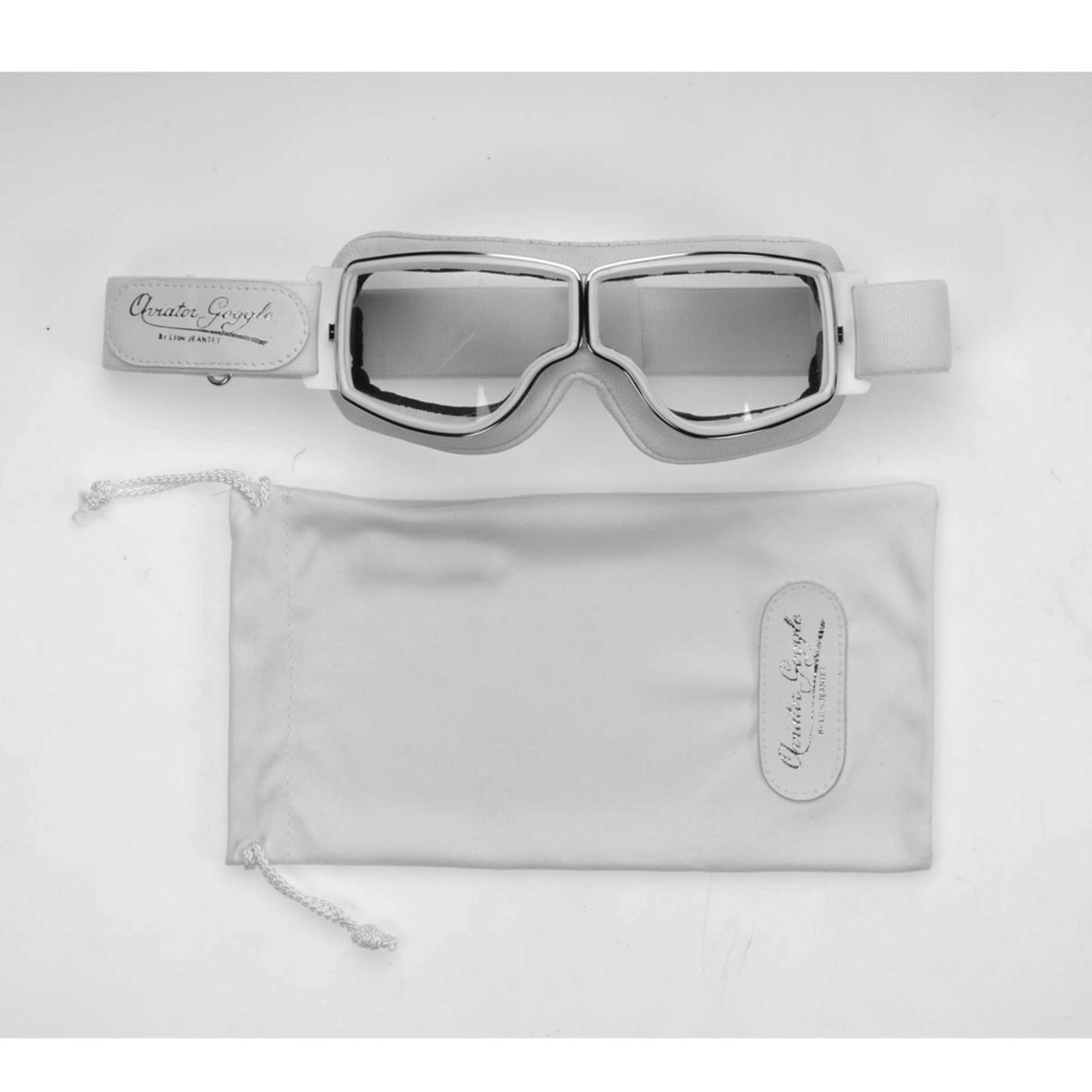 Lifestyle Goggles, Aviator T2 White/White Frame