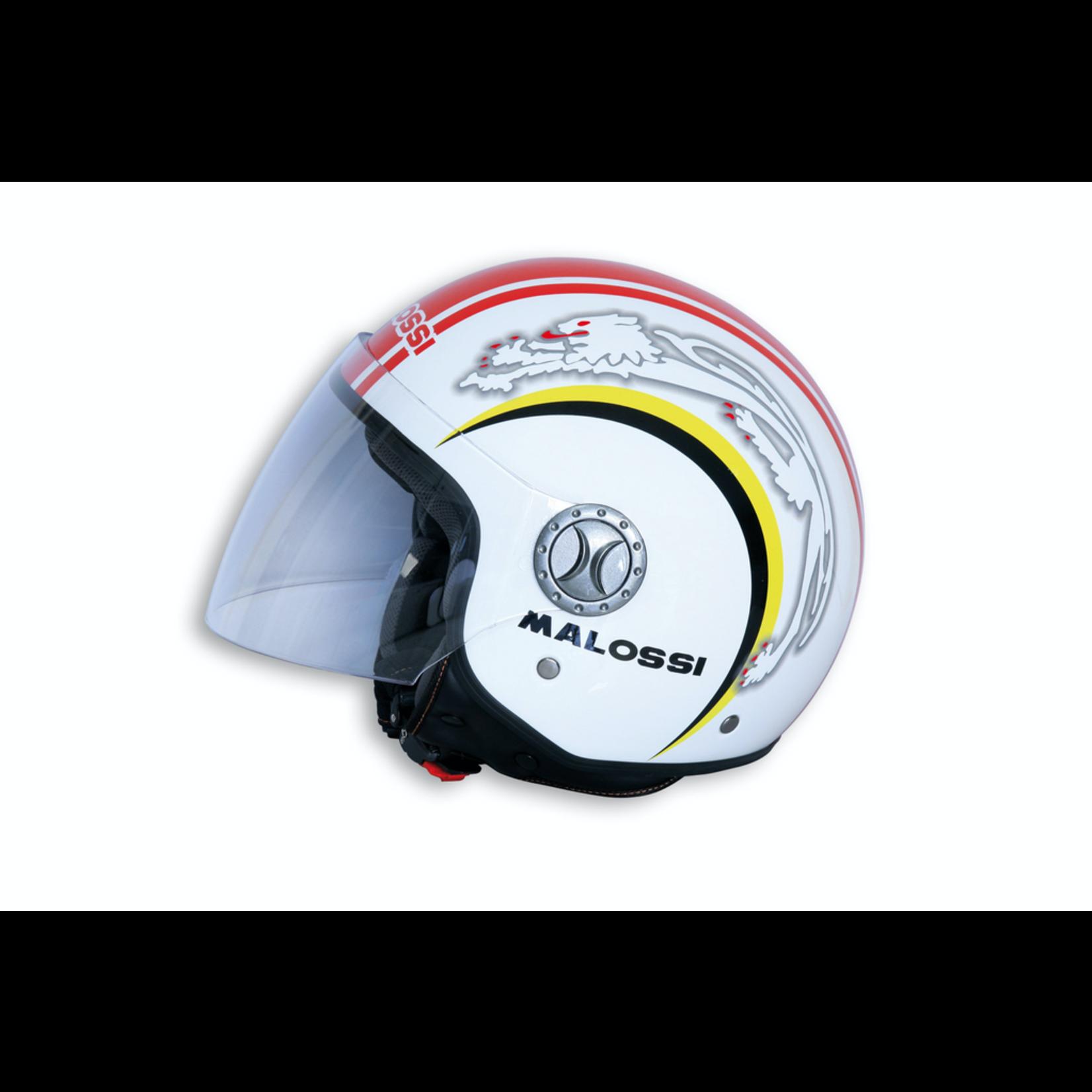 Apparel Helmet, Malossi Jet White