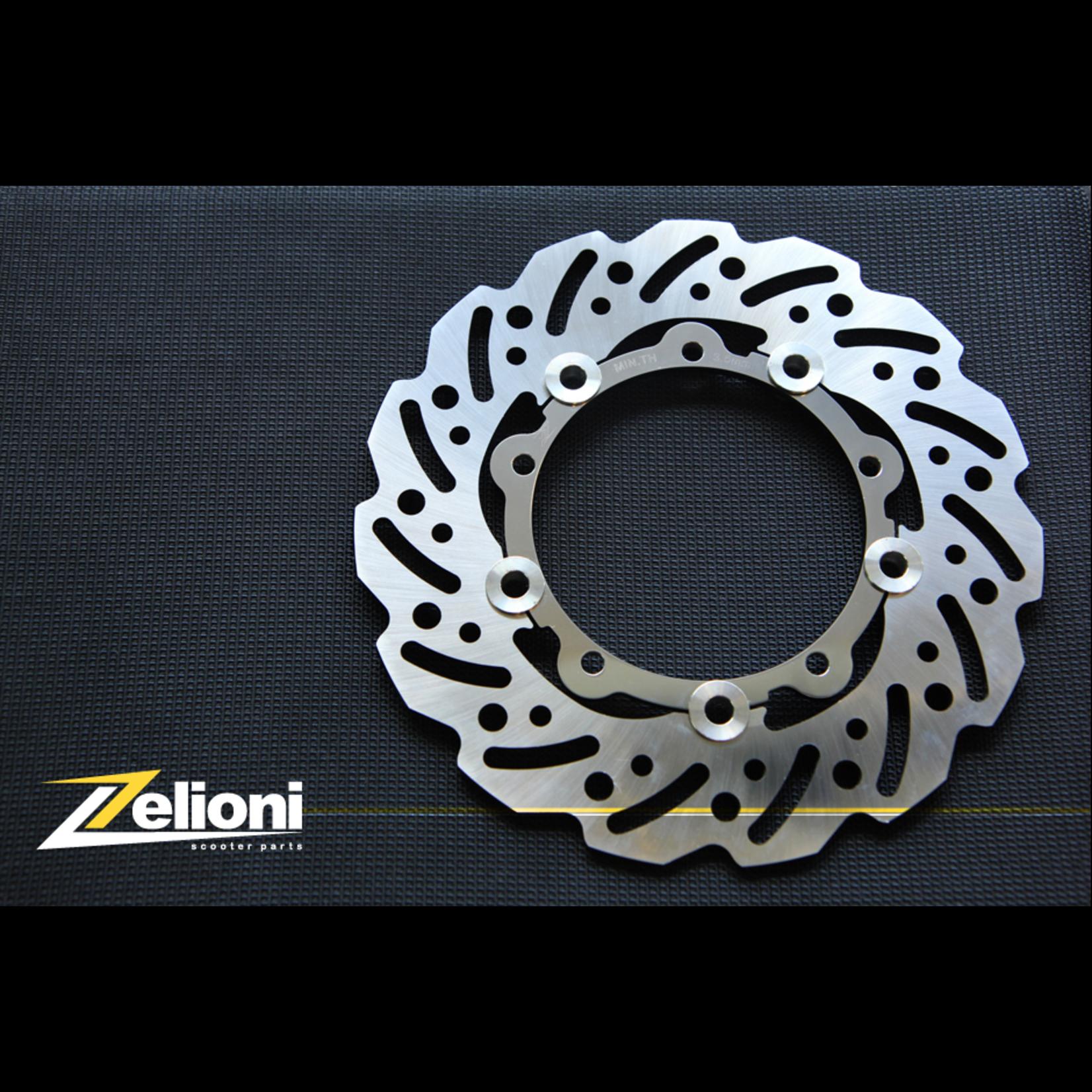 Parts Brake Rotor, ZELIONI Type III GT/GTS Floating