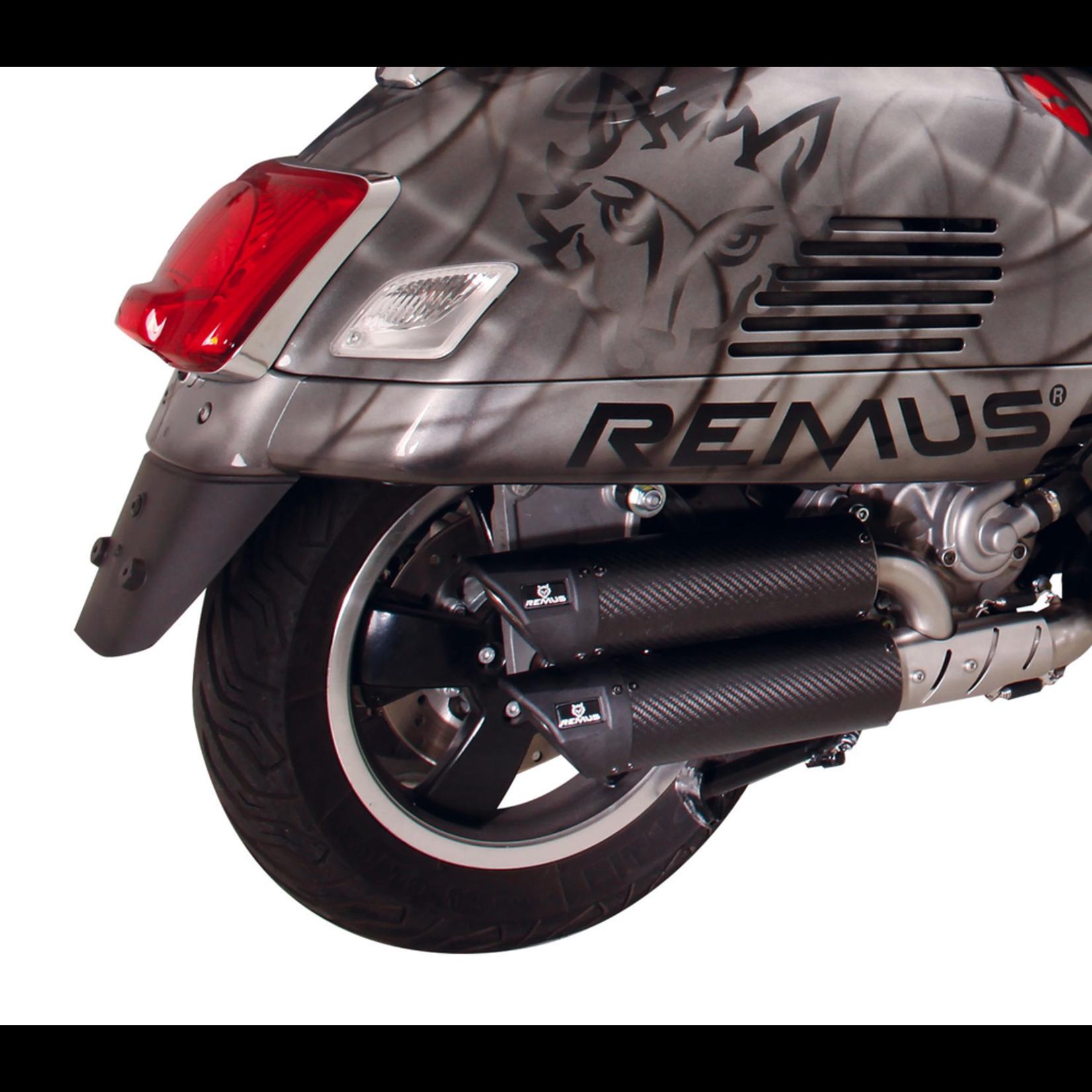 Parts Exhaust, REMUS Dual FLow Carbon Fibre GTS