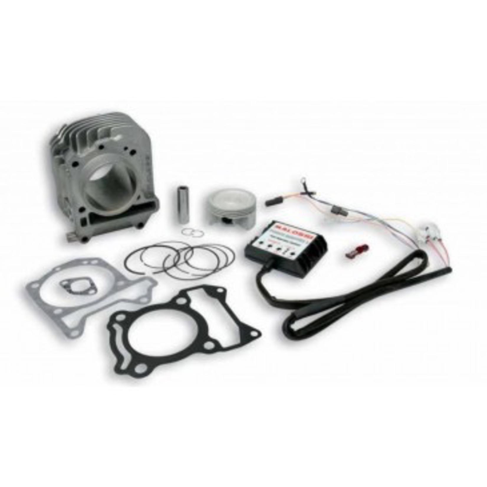 Parts Cylinder Kit, Malossi 185cc (3V-EUiget) + Forcemaster 2 Module