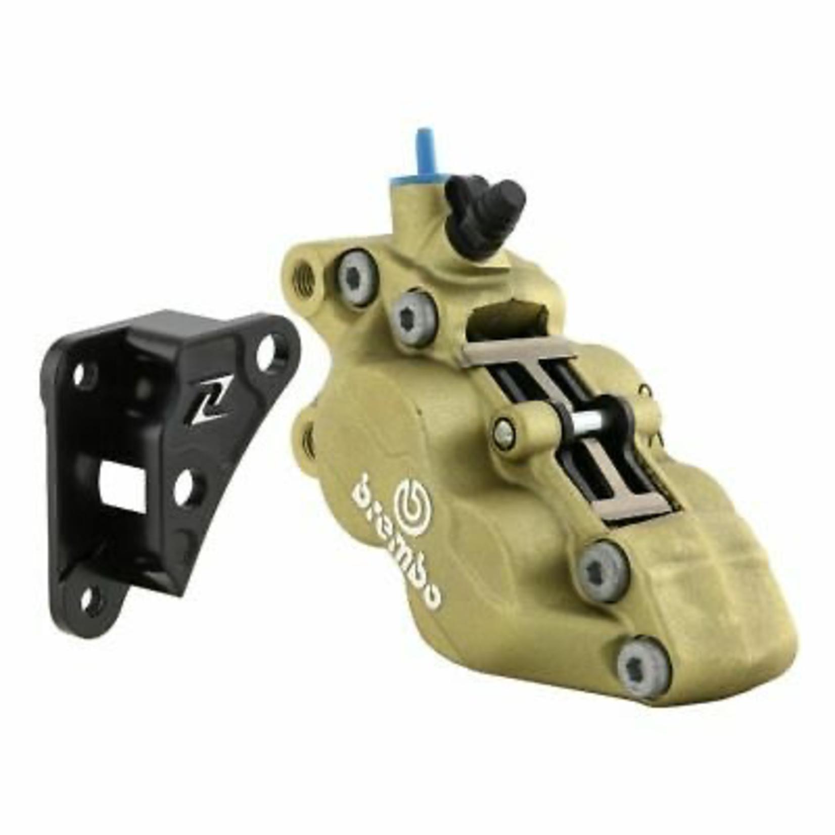 Parts Brembo Brake Caliper, 2 Piston GT/GTS ABS