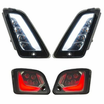 Parts Signal Lamp Set, GTS Front & Rear LED Smoked Lens