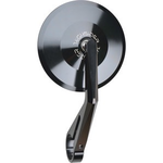Parts Mirror, Montana HandleBar End (Left or Right) Black 102mm