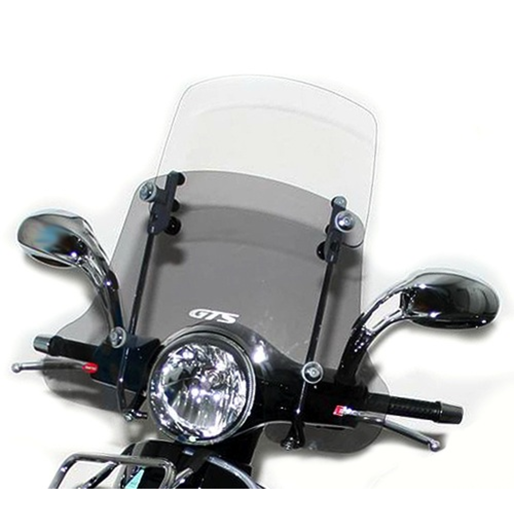 Accessories Windshield, GT/GTS FACO Twin Paned Smoked/Clear