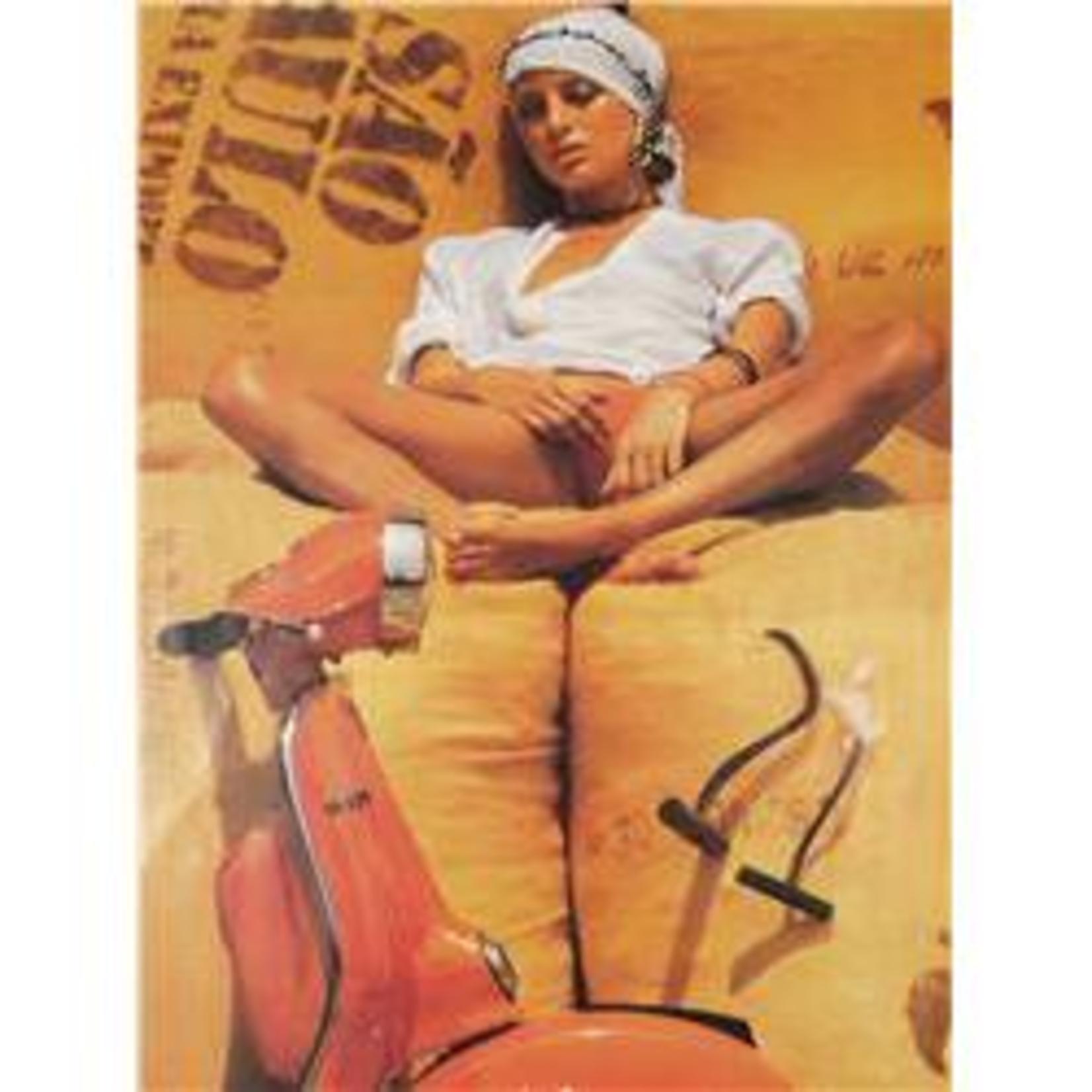 Lifestyle Poster, Rally Orange Harvest 48 x 65cm
