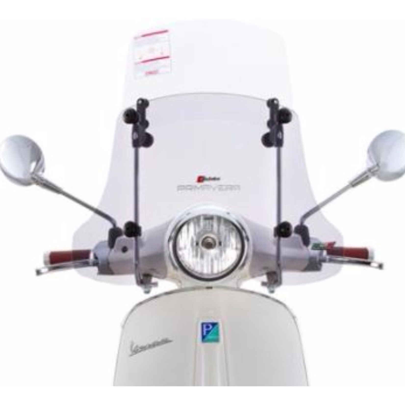 Accessories Windshield, Primavera FACO Twin Paned Smoked/Clear