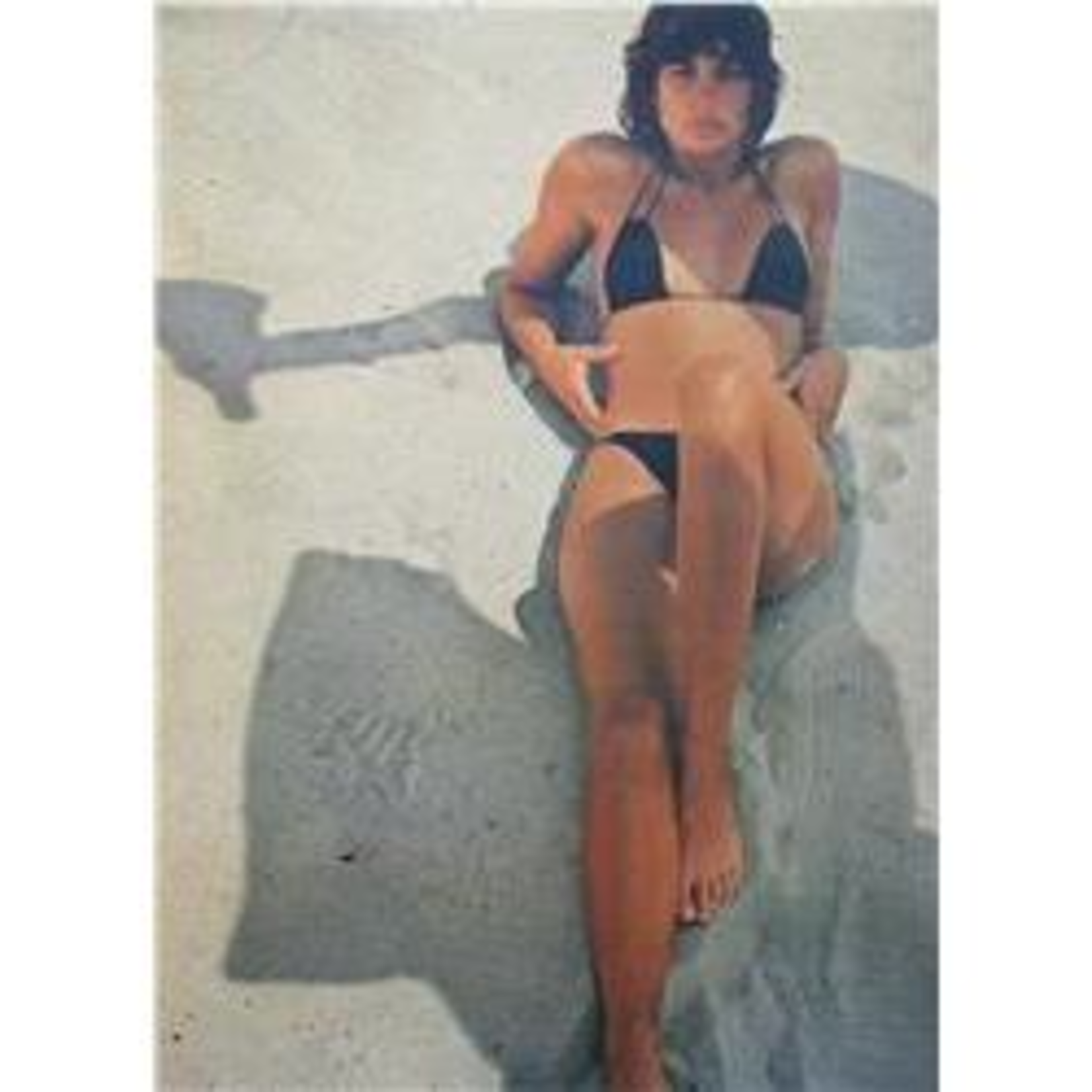 Lifestyle Poster, Girl on Vespa Shadow