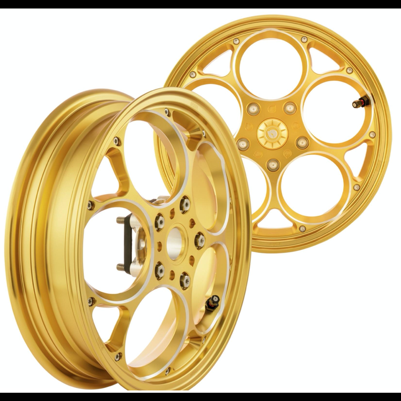 """Parts Rim Set, MARU's 12"""" GTS Gold Anodized"""